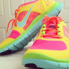 Classic or simple with anything else, but work out sneakers should be loud, colorful, & always Nike :)
