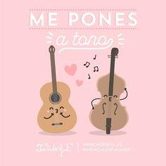 Y juntos en armonía hacemos una bella melodía mi melocotón