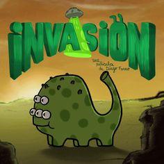 Invasion short film is coming!!  Ahora lo escribo en español: ¡Se viene el cortometraje de invasión!