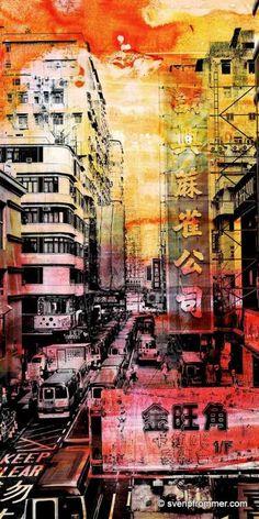 """Saatchi Art Artist Sven Pfrommer; Photography, """"HONG KONG STREETS IX"""" #art"""