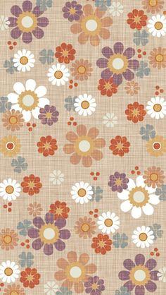 Wallpaper Computer, Cellphone Wallpaper, Mobile Wallpaper, Iphone Wallpaper, Vintage Flowers Wallpaper, Flower Wallpaper, Pattern Wallpaper, Flower Backgrounds, Wallpaper Backgrounds