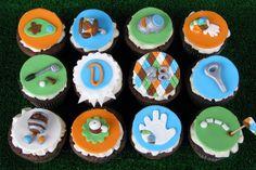 Pub Golf Cupcakes by Lynlee's Petite Cakes, via Flickr
