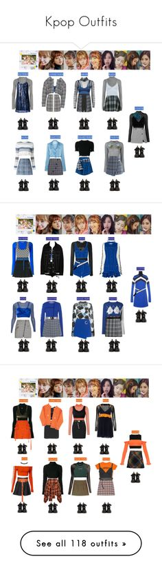"""""""Kpop Outfits"""" by kimiko-alien ❤ liked on Polyvore featuring GCDS, Delpozo, Thierry Mugler, Dolce&Gabbana, Proenza Schouler, Diane Von Furstenberg, Topshop Unique, Chicwish, Hilfiger Collection and Versace"""