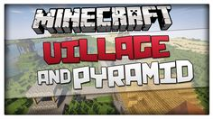 Minecraft 1.8.1 Seed - Village and Pyramid at Spawn! (For Minecraft 1.8 ...