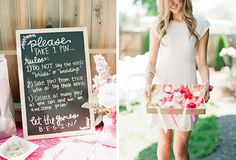 A girly pink backyard bridal shower by Connie Whitlock Photography - Wedding Party