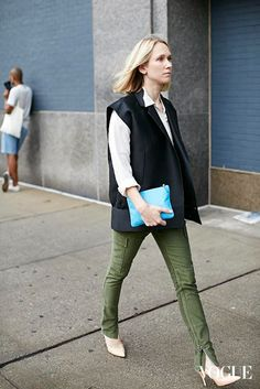 Street Style at New York Fashion Week Spring/Summer 2014 Photographed by Sootket Jiwpanit