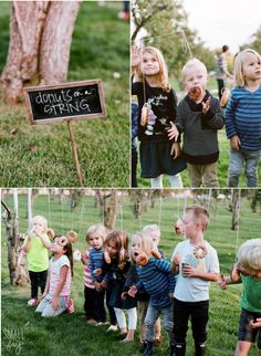 25 ridiculously fun birthday party games for kids fall harvest party [entertainment] Cocktails Halloween, Menu Halloween, Bonbon Halloween, Halloween Party Games, Halloween Birthday, Costume Halloween, Easy Halloween, Birthday Party Games For Kids, Donut Birthday Parties