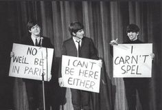Funny pictures about The Beatles Were Hilarious. Oh, and cool pics about The Beatles Were Hilarious. Also, The Beatles Were Hilarious photos. George Harrison, Paul Mccartney, John Lennon, Satire, Beatles Funny, Beatles Art, Beatles Guitar, Beatles Poster, All You Need Is Love
