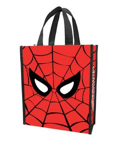 Look at this Spider-Man Shopper Tote - Set of Two on #zulily today!