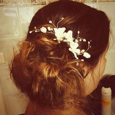 Wedding hair - bohemian style - south of france wedding - hair by Daniel Chavey Dream Day Wedding, Bohemian Style, Wedding Hairstyles, Wedding Inspiration, France, Wedding Hair, Wedding Hair Down, Bridal Hair Accessories, Wedding Hairs