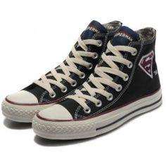 534dd3a28d10 Converse Shoes Black Authentic DC Comics- Superman Chuck Taylor All Star  Womens Mens Canvas Sneakers Hi Tops  shoes  - EUR€55.95   vernashop.com