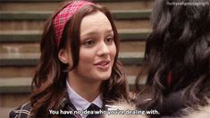 """She doesn't let anyone underestimate her. 31 Reasons Blair Waldorf From """"Gossip Girl"""" Is The Real Queen B Gossip Girl Memes, Gossip Girl Blair, Gossip Girls, The Cw, Blair Waldorf Quotes, Blair Quotes, Leighton Marissa Meester, Real Queens, Britpop"""
