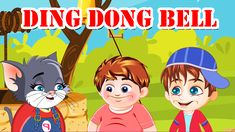 Enjoy watching a delightful nursery rhyme, Ding Dong Bell to teach your kids to care and love the pets