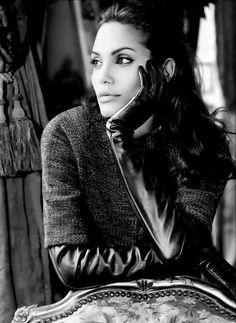 Angelina Jolie for St. John Knits, 2006. S)