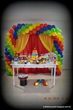 Banquete Buffet & Cia: Festa no Circo