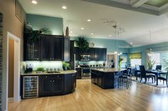 Yes I want this kitchen - Love the colors! Schumacher Homes America's largest custom home builder