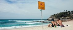 Dangerous Currents at Bronte Beach