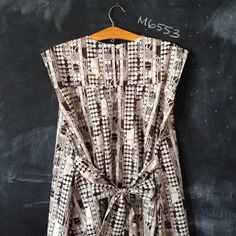 mccalls M6553 dress pattern in Liberty
