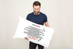 If there is an error on my part, I will fix the issue. Love Text, Best Boyfriend, Cushion Covers, Pillow Cases, I Am Awesome, Great Gifts, Presents, Reusable Tote Bags, Pillows
