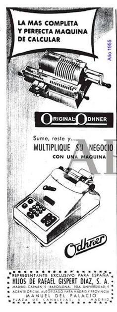 Odher - Gispert. Año 1955.
