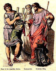 Olympic Victor, Priest of Bacchus, Greek King