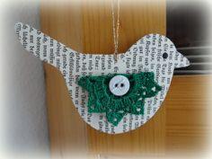 Wunsch-Glücksvogel grün