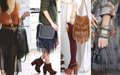 Roupas e Acessórios de Franjas | I Love Fashion
