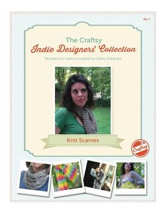 (6) Name: 'Knitting : Free Knit Scarves Pattern eBook