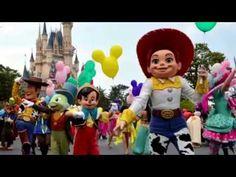 Disneyland Version Vs Original Version 2016 All kids must see - YouTube
