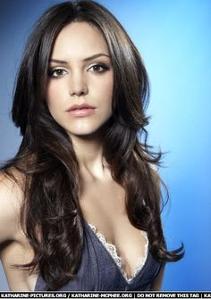 Katherine McPhee long layers - I feel like she and I have similar hair - not much up top.
