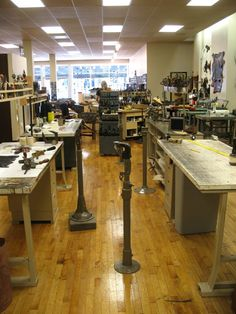 A view of our workshop.