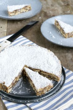 Bread Cake, Pie Cake, Cake Cookies, Cupcakes, Dutch Recipes, Piece Of Cakes, Something Sweet, Healthy Baking, Sweet Tooth