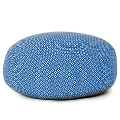 Puff Blue XXL /// Folk Collection by Paparajote Factory - Serie Folk de Paparajote Factory