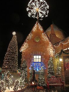 La Caille at Quail Run in Utah,      We spend Christmas Eve there for dinner every year..... Our tradition .