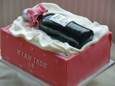0b0b0c42829 Wine Bottle Cake My first wine bottle cake. Thanks to everyone for all the  advice