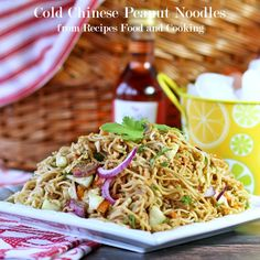 Cold Chinese Peanut Noodles Recipe on Yummly. @yummly #recipe