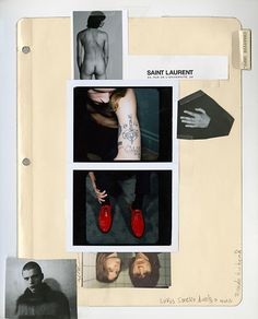 Here's your first look at Anthony Vaccarello's Saint Laurent Menswear - Gallery 1 - Image 4 Editorial Layout, Editorial Design, Layout Inspiration, Graphic Design Inspiration, Layout Design, Design Art, Mises En Page Design Graphique, Image Mode, 1 Image