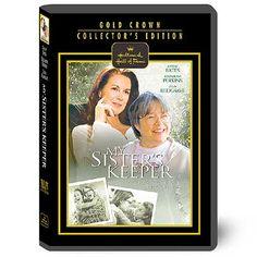 My Sister's Keeper Hallmark Hall Of Fame DVD Movie. Item# DVD1398
