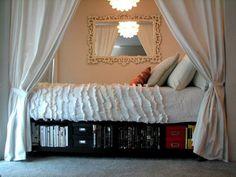 Underbed bookshelf by maude