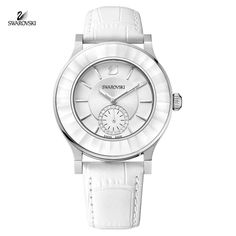 Swarovski Swiss Watch OCTEA CLASSICA White Stainless Steel #1181757