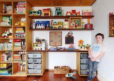 hand made shelves!