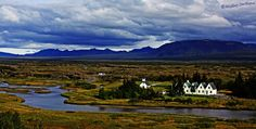 Postcard from wild Iceland