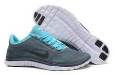 official photos e9bb1 017ed New Color Nike Free 3.0 V5 Mens Gray Blue Cheap Nike Running Shoes, Running  Shoes