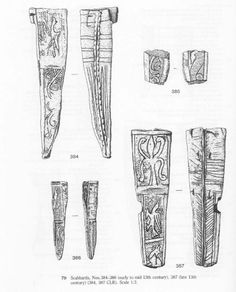 Scabbards (early to mid 13th centery)