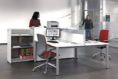 COOL - Table dividers from actiu Open Concept Office, Open Office, Office Desk, Office Furniture, Corner Desk, Cool Stuff, Valencia, Design, Ceiling