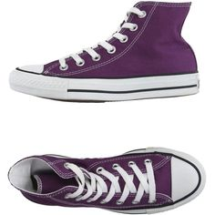 56b41eae09091 Converse All Star High-tops   Trainers ( 91) ❤ liked on Polyvore featuring  shoes