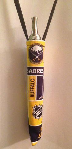 E-cigarette LANYARD KEY CHAIN ecig eGO Mod Battery Kanger BUFFALO SABRES NHL