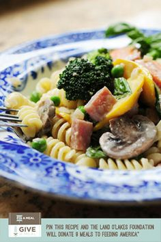 Pasta Primavera. @Ree Drummond | The Pioneer Woman's recipe will be featured on the @TODAY May 1!