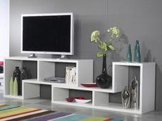 Mueble en Melamina Para Television Somos la Solucion