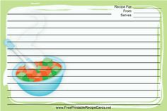 This baby food recipe card features bowls of colorful baby food on a this baby food recipe card features bowls of colorful baby food on a green background forumfinder Choice Image